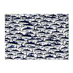 School of Bluefin Tuna 5'x7'Area Rug
