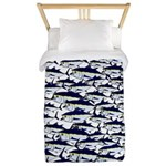 School of Bluefin Tuna Twin Duvet