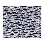 School of Bluefin Tuna Throw Blanket