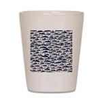 School of Bluefin Tuna Shot Glass