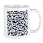 School of Bluefin Tuna Mugs
