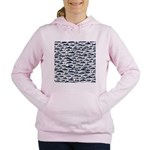 School of Bluefin Tuna Women's Hooded Sweatshirt