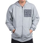 School of Bluefin Tuna Zip Hoodie