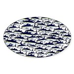 School of Bluefin Tuna Sticker