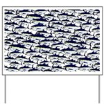 School of Bluefin Tuna Yard Sign