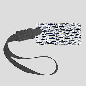 School of Bluefin Tuna Luggage Tag