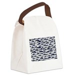 School of Bluefin Tuna Canvas Lunch Bag