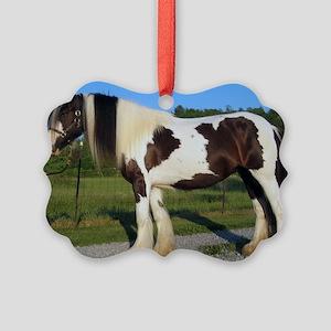 horse gypsy vanner Ornament