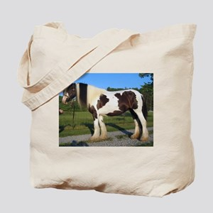 horse gypsy vanner Tote Bag
