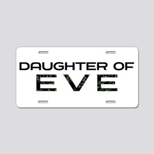 Daughter of Eve Aluminum License Plate