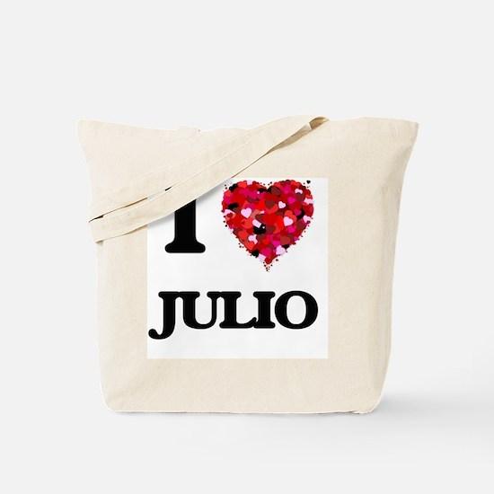 I Love Julio Tote Bag