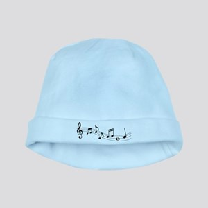 Music Notes baby hat