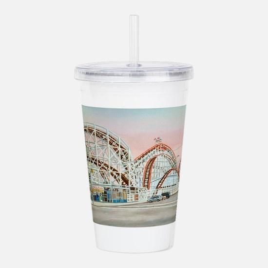 Cute Amusement park Acrylic Double-wall Tumbler