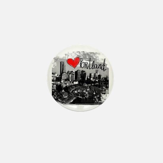 Funny Love portland Mini Button