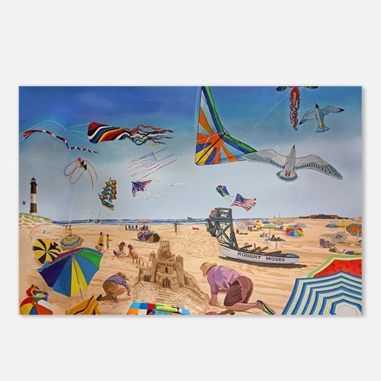 Robert Moses Beach Postcards (Package of 8)