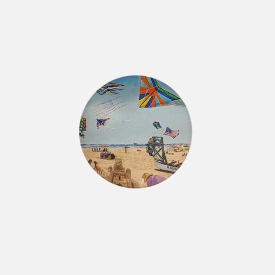 Robert Moses Beach Mini Button