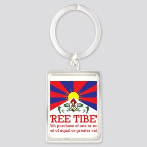 Free Tibet With Purchase Keychains