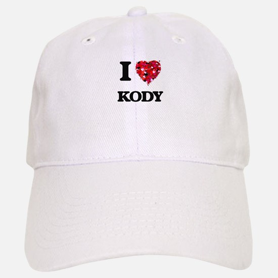 I Love Kody Baseball Baseball Cap