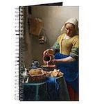 Vermeer The Milkmaid With Kitten Journal