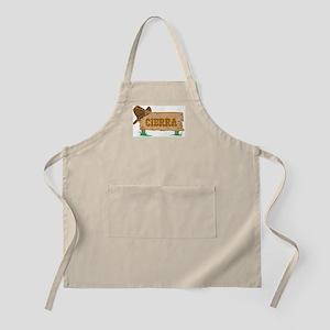 Cierra western BBQ Apron