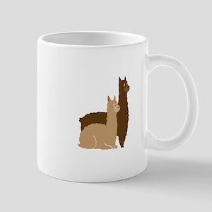 2 alpacas Mugs
