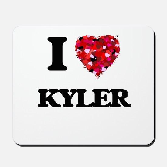I Love Kyler Mousepad