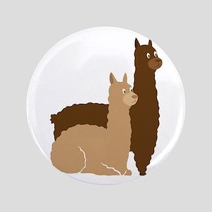 2 alpacas Button