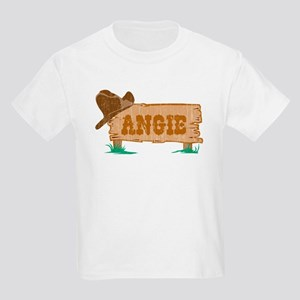Angie western Kids Light T-Shirt