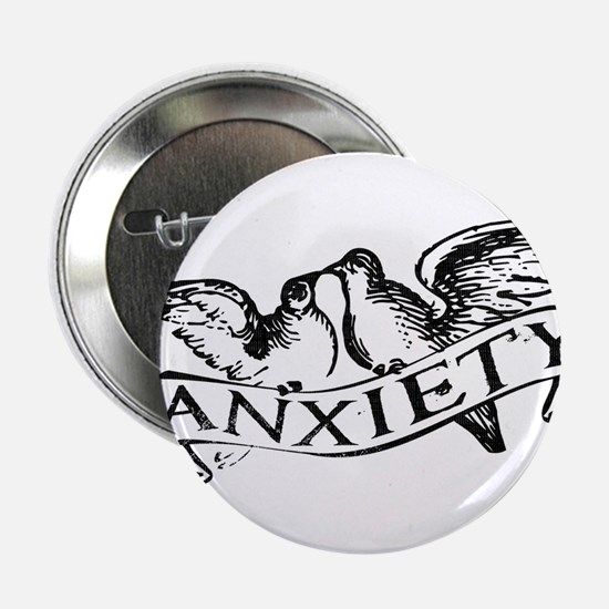 """Anxiety Doves 2.25"""" Button (10 pack)"""
