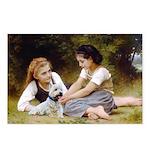 Bouguereau Scotch Terrier Postcards (Package of 8)