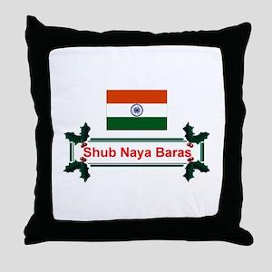 India Shub... Throw Pillow