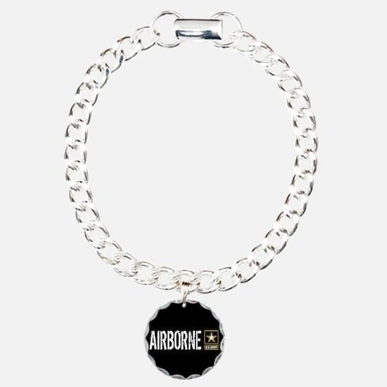 U.S. Army: Airborne (Bla Charm Bracelet, One Charm