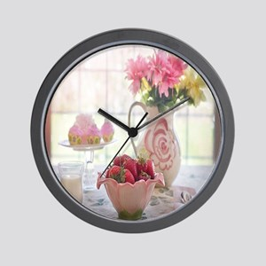Country Lunch Wall Clock