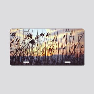 Blowing Willows Aluminum License Plate