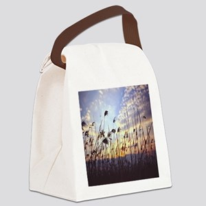 Blowing Willows Canvas Lunch Bag