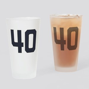 40 40th Birthday 1975 1940 75 Years Drinking Glass