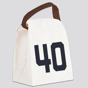 40 40th Birthday 1975 1940 75 Yea Canvas Lunch Bag