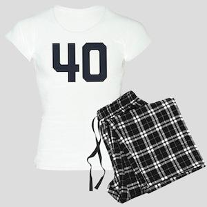 40 40th Birthday 1975 1940 Women's Light Pajamas
