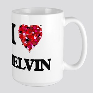 I Love Melvin Mugs