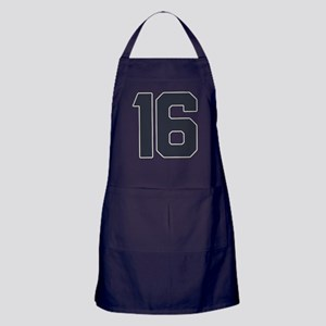16 16th Sweet 16 Years Old Apron (dark)