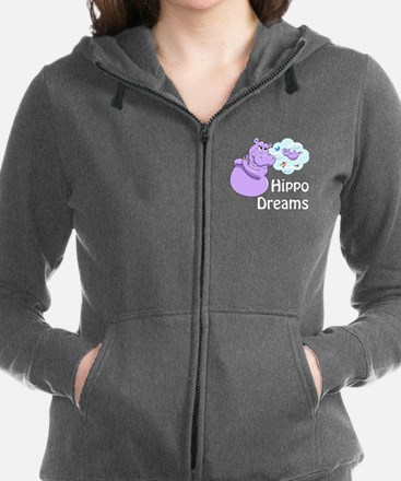 Cool Dreams flying Women's Zip Hoodie