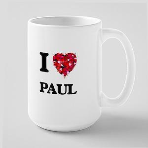 I Love Paul Mugs