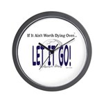 Let It Go Wall Clock