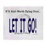 Let It Go Throw Blanket