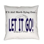 Let It Go Everyday Pillow