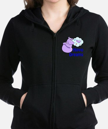 Dreams flying Women's Zip Hoodie