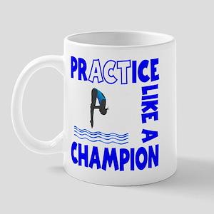 Practice Diving Mug Mugs
