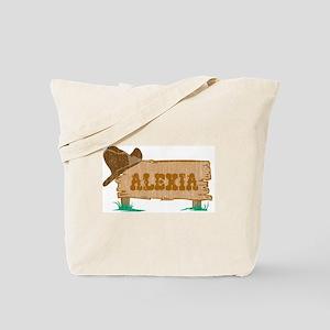 Alexia western Tote Bag