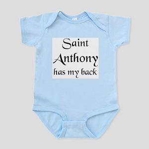 saint anthony Infant Bodysuit