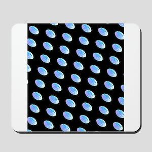 Blue Black Football 4Perry Mousepad